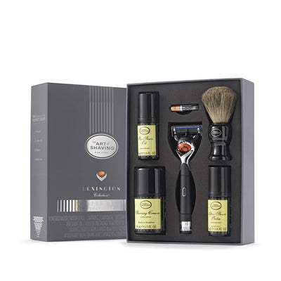 Lexington Collection Power Shave Kit with Brush