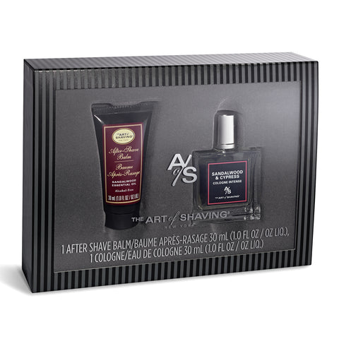 Holiday Set - Sandalwood Fragrance, & After Shave Balm