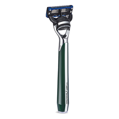 The Art of Shaving Morris Park Collection 5 Blade Razor -  British Racing Green