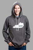 Dark Grey Fleece Hoodie
