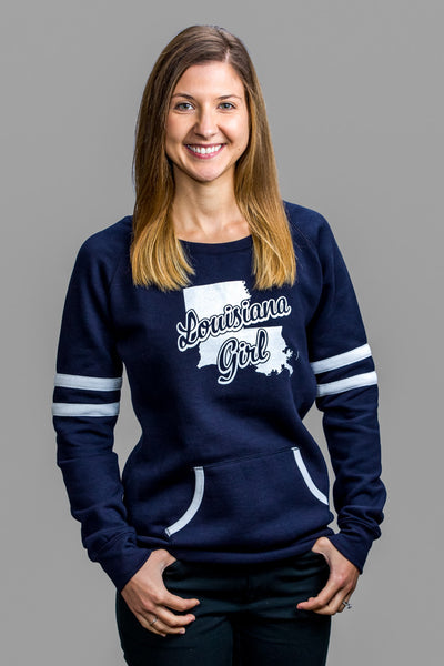 Ladies Varsity Fleece Crew