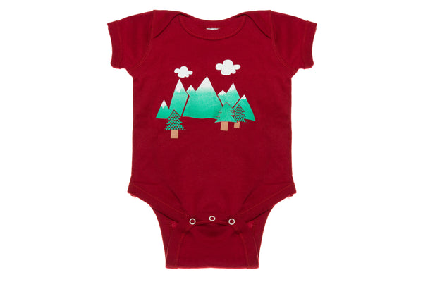 Mountains Onesie
