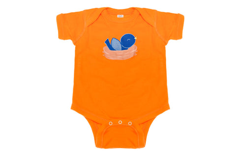 Blue Bird Onesie