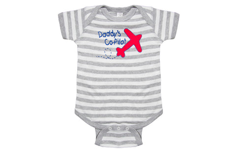 Daddy's Co-Pilot Onesie