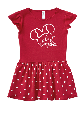 Disney Best Day Ever Toddler Dresses