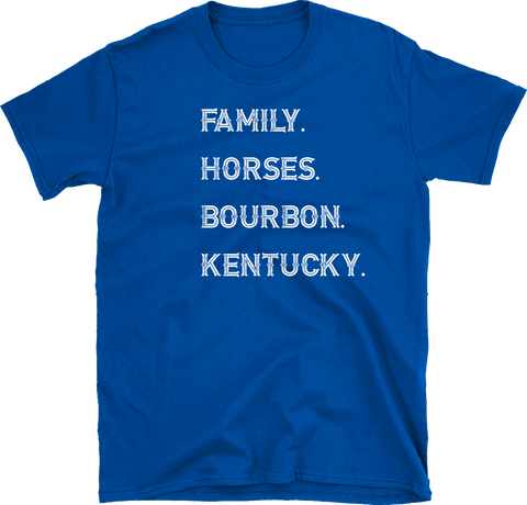 Kentucky Family. Horses. Bourbon. Kentucky.