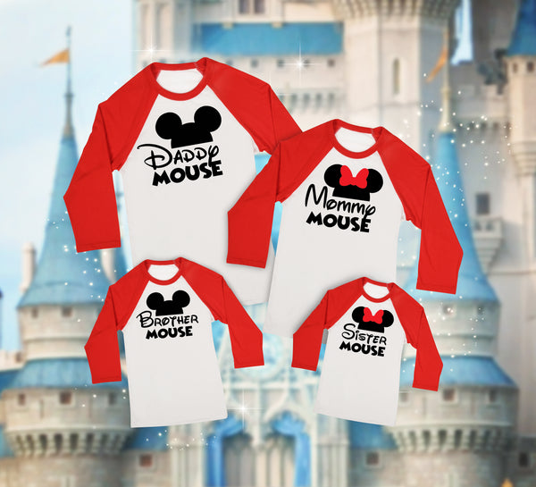 Disney Baseball Tees