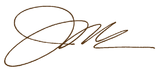 Jim Malone Signature