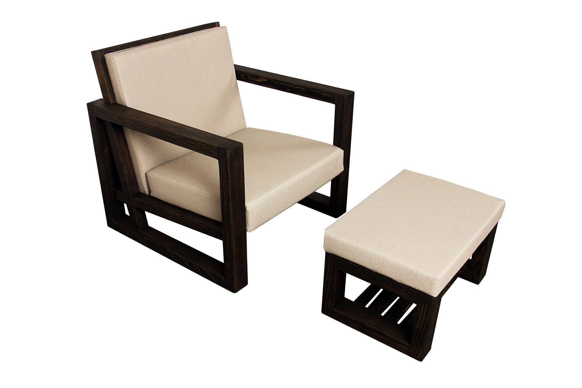 Breathe 32 Chair with Ottoman