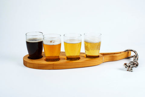 The CounterEv Craft Beer Flight Paddle
