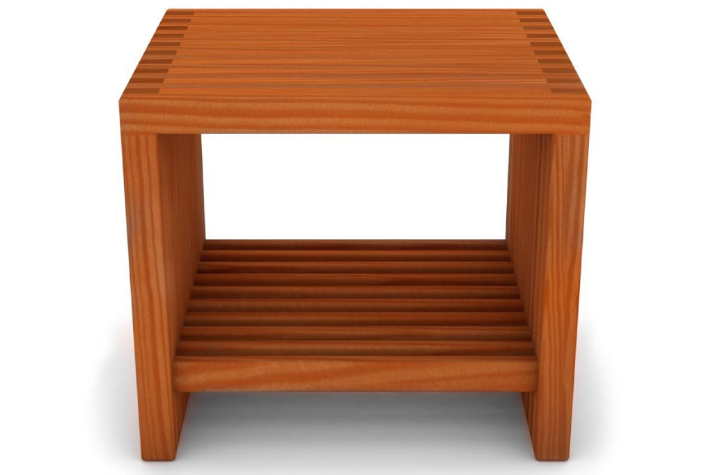 Lilly End Table with Shelf