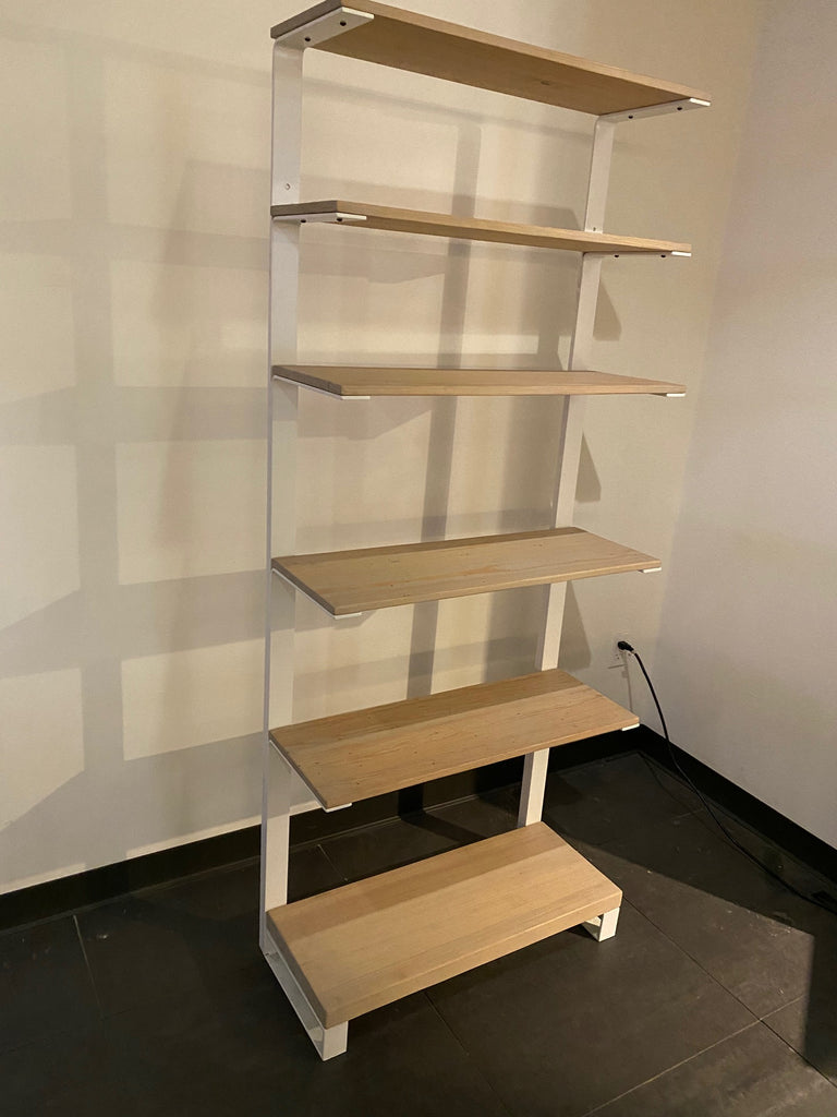 CITYPOINT Bending Steel Bookshelf