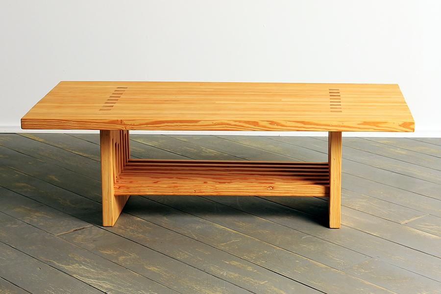 Kingpin Coffee Table with Shelf