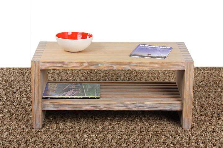 Lilly Coffee Table with Shelf