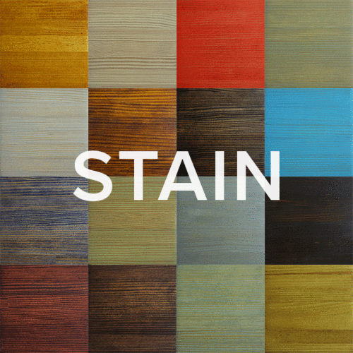 Wood Stain Samples (Set of 3)