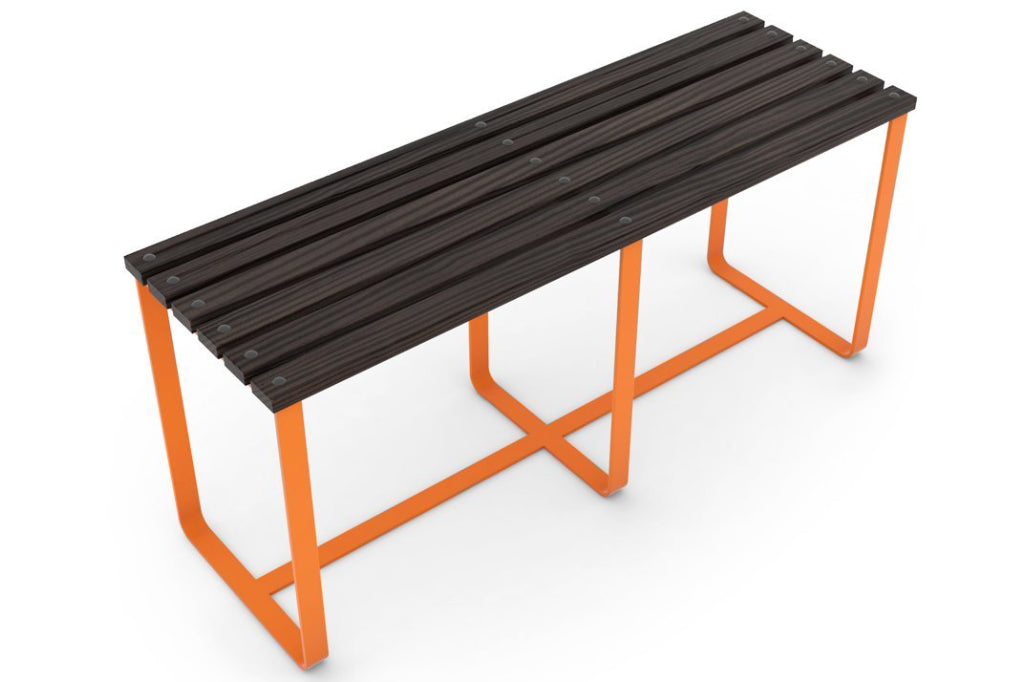 SplashUps Slatted Café Bench