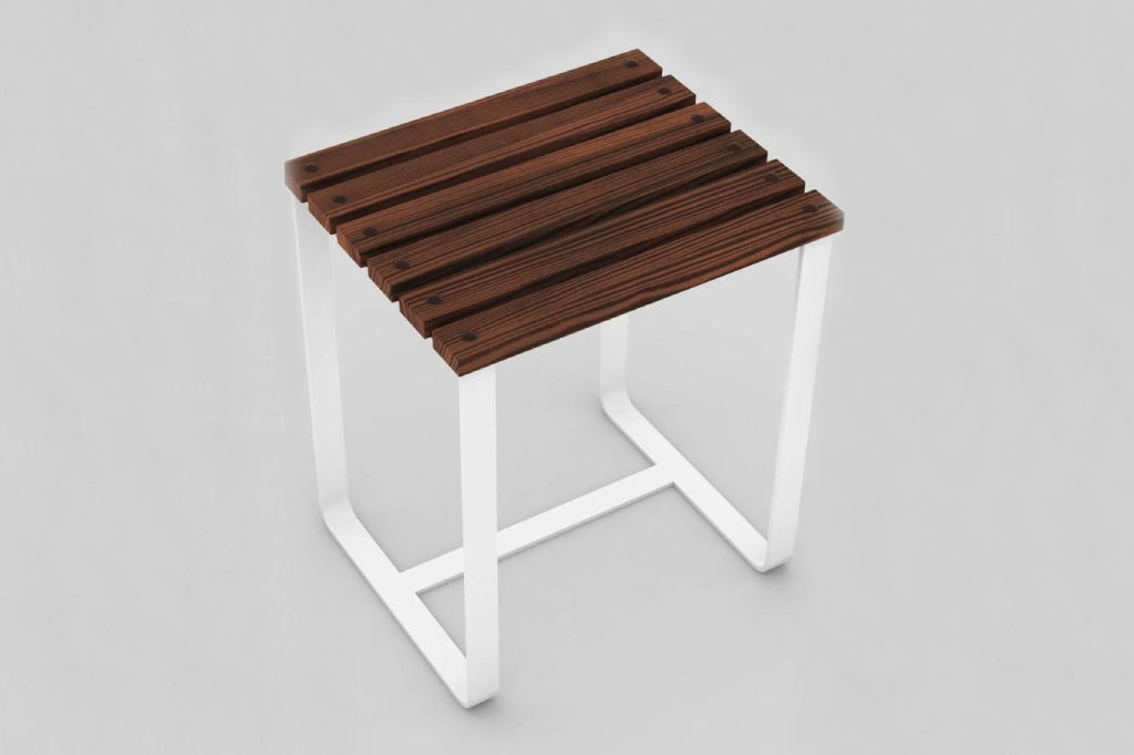 SplashUps Slatted Café Stool
