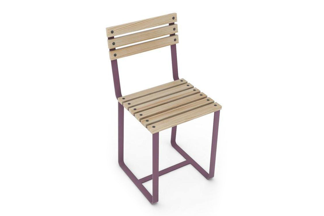SplashUps Slatted Café Chair