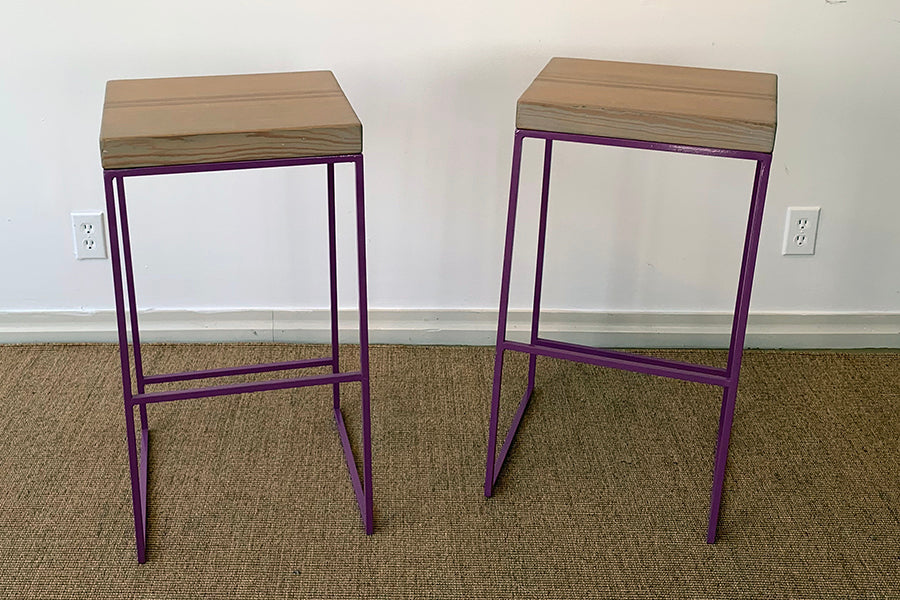 Factory Outlet: SplashUps Slant Barstool (PAIR)