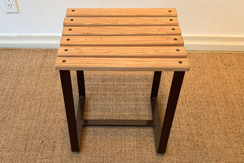 Factory Outlet: SplashUps Slatted Cafe Stool