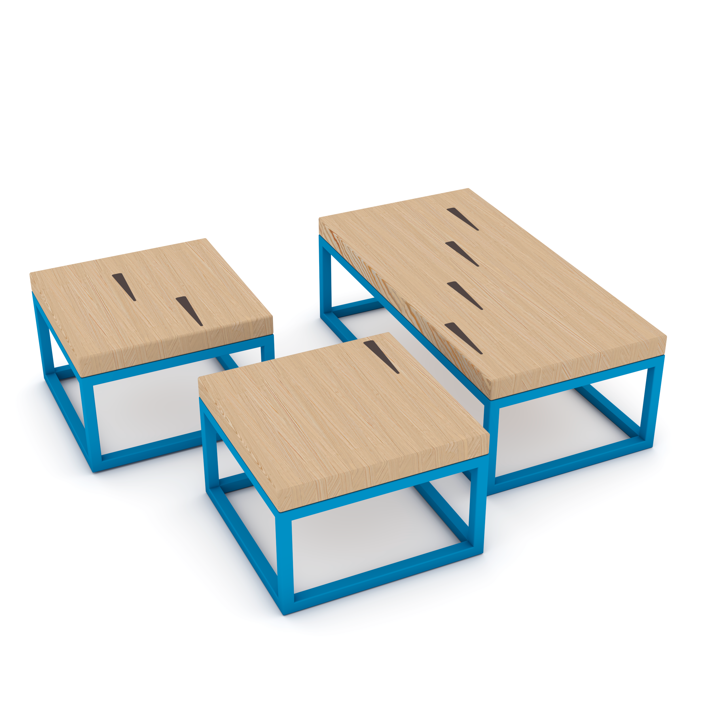 Squaresville Coffee Table Set