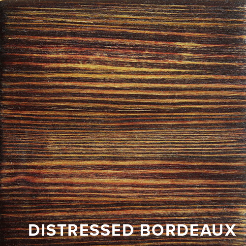 Distressed Bordeaux