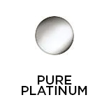 Pure Platinum Finish