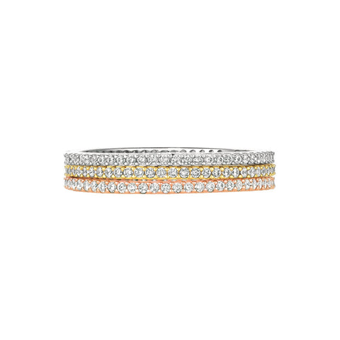 Tricolor Stunning Stacks Set 6 mm