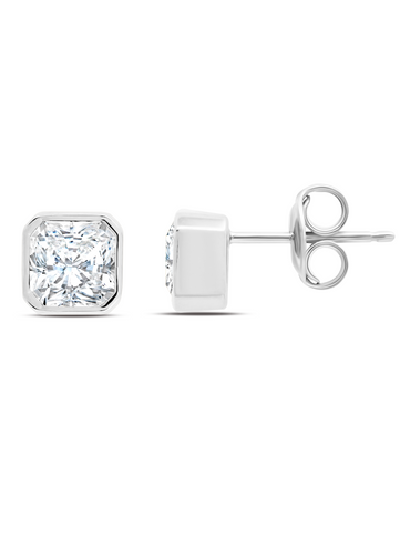 Opulence Stud in Platinum