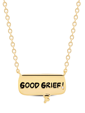 GOOD GRIEF! Thought Balloon Necklace