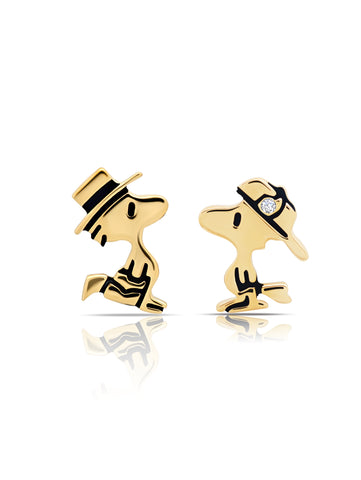 Woodstock Stud Earrings