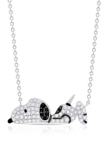 Snoopy Laying Down Necklace