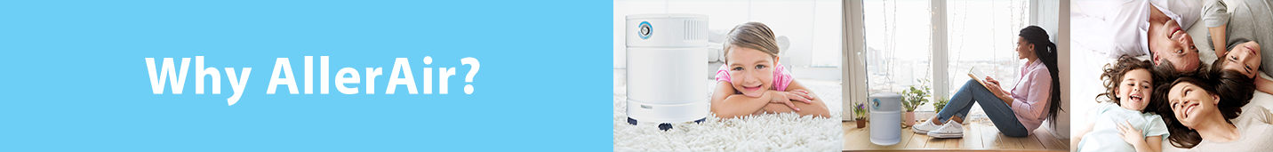Why AllerAir Purifiers for chemicals, gases and odors