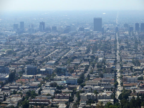 Los Angeles high smog levels