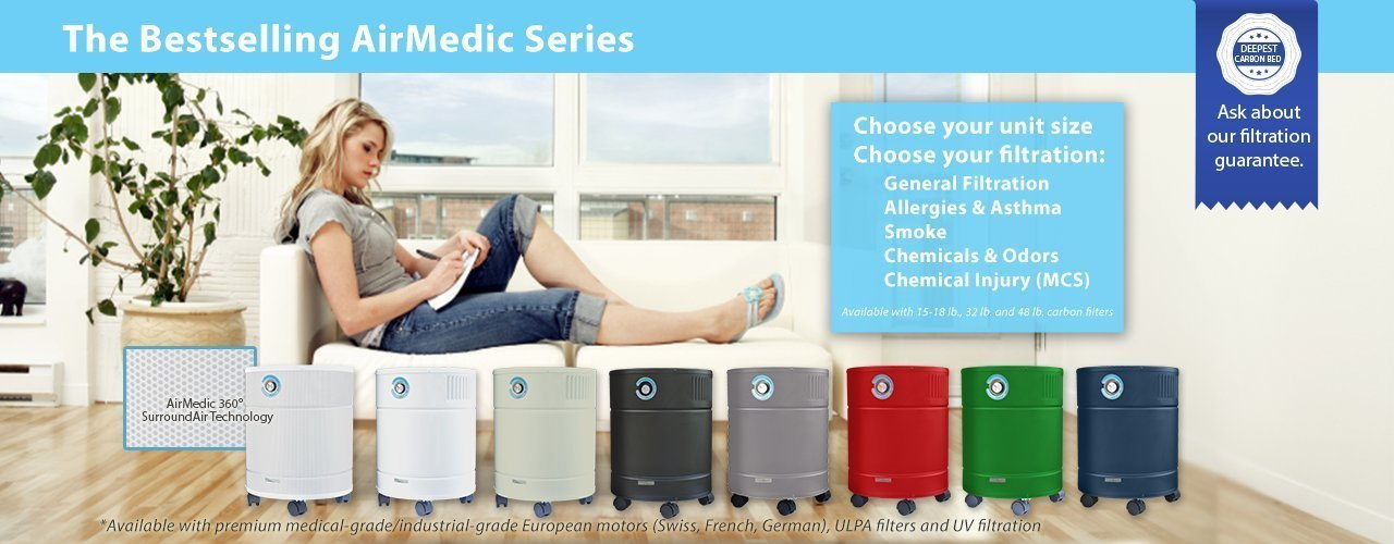 AirMed series air cleaners from AllerAir
