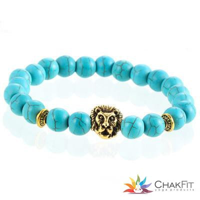 Gold and Silver Plated Buddha Leopard Bracelet - ChakFit Yoga Products
