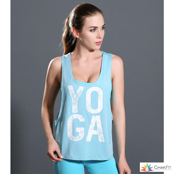 Chakfit Yoga Tank Top - ChakFit Yoga Products