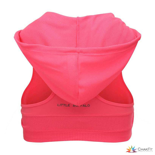 Hooded Sports Bra - ChakFit Yoga Products