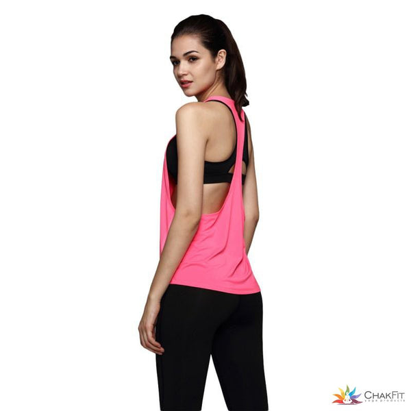 Chakfit Loose Tank Top - ChakFit Yoga Products