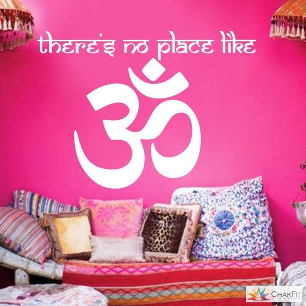 Om Shanti Om Symbol Wall sticker - ChakFit Yoga Products