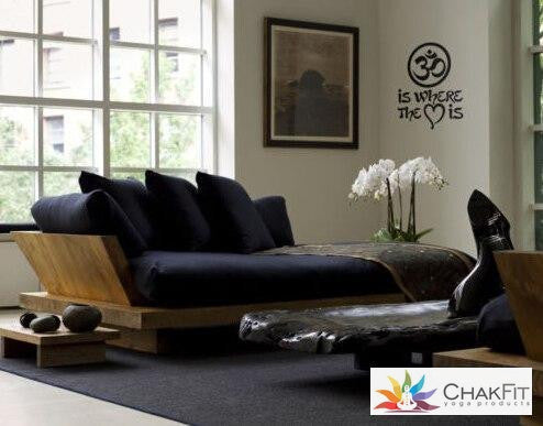 Chakfit yoga Wall Sticker. - ChakFit Yoga Products