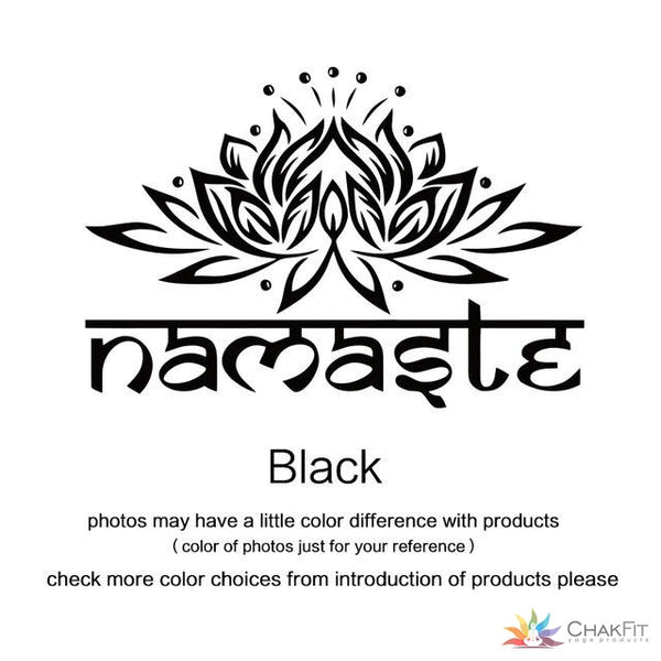 Namaste Wall Sticker - ChakFit Yoga Products