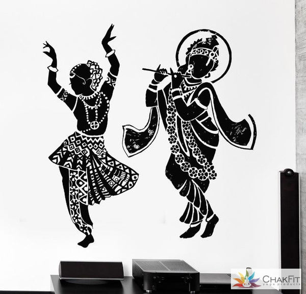 Buddha Dance Wall Sticker - ChakFit Yoga Products