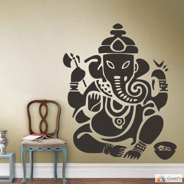 Chakfit  Buddhism Indian Namaste Wall Sticker. - ChakFit Yoga Products