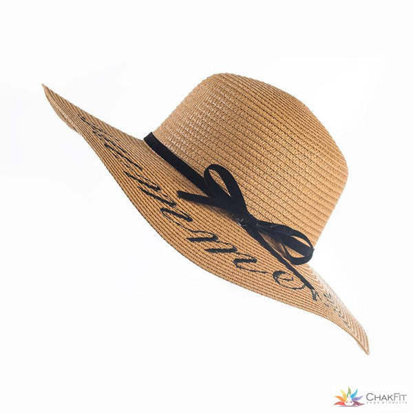 Summer Beach Hat - ChakFit Yoga Products