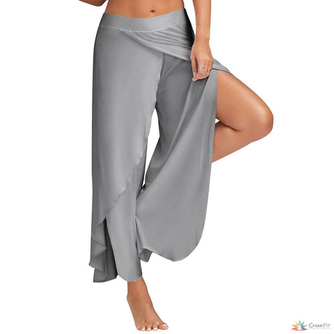 Sexy High Split Trousers - ChakFit Yoga Products
