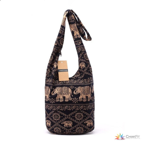 Cotton Shoulder Bag - ChakFit Yoga Products