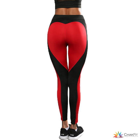 Heart Bottom Leggings - ChakFit Yoga Products