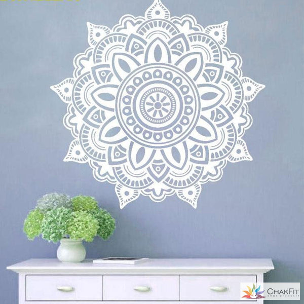 Mandala Wall Stickers - ChakFit Yoga Products