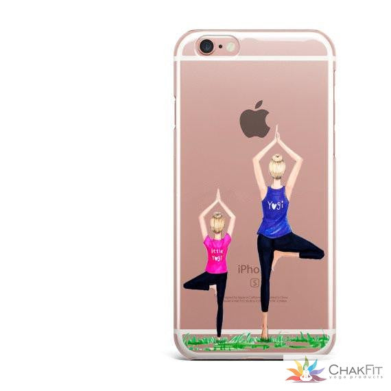 Soft silicone Phone Cases For iphone SE 5 5s 6 6S 7 7Plus 8 8plus - ChakFit Yoga Products